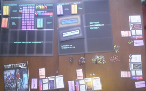 The Nightlancer v19 prototype from The Games Crafter.