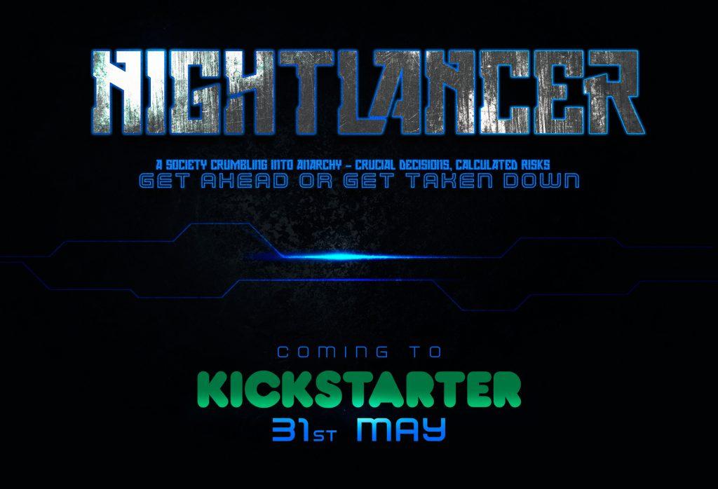 nightlancer kickstarter indiegame indiedev cyberpunk